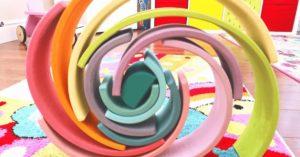 Arc-en-ciel bois, idées et inspiration pour les enfants (et les adultes)